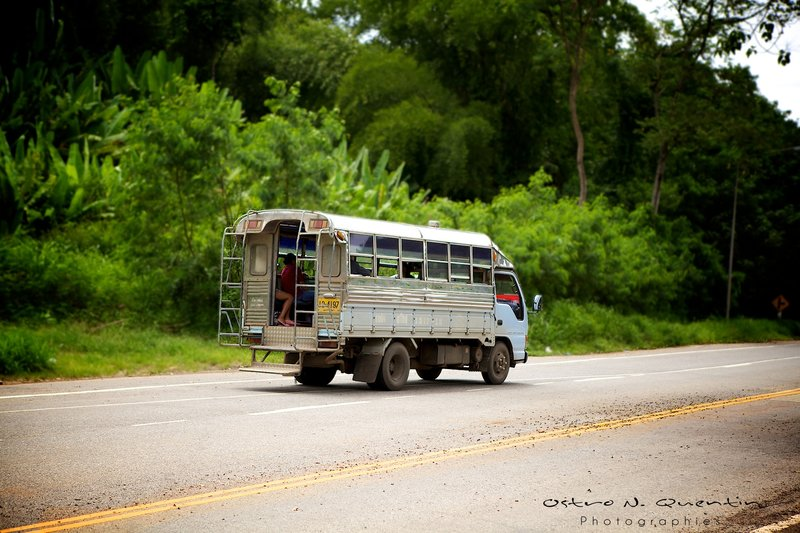 Bus for National Park of Khao Yai - Thailand