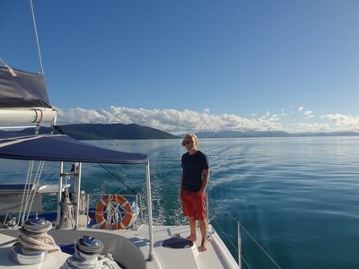 The incredible Whitsundays and our incredibly lucky weather