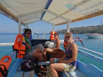 Boat to the Gili's