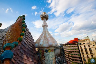 Casa Batlló Roof 2