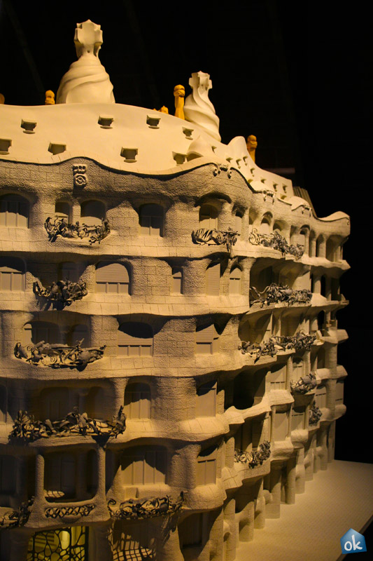 Casa Mila - La Pedrera - Model
