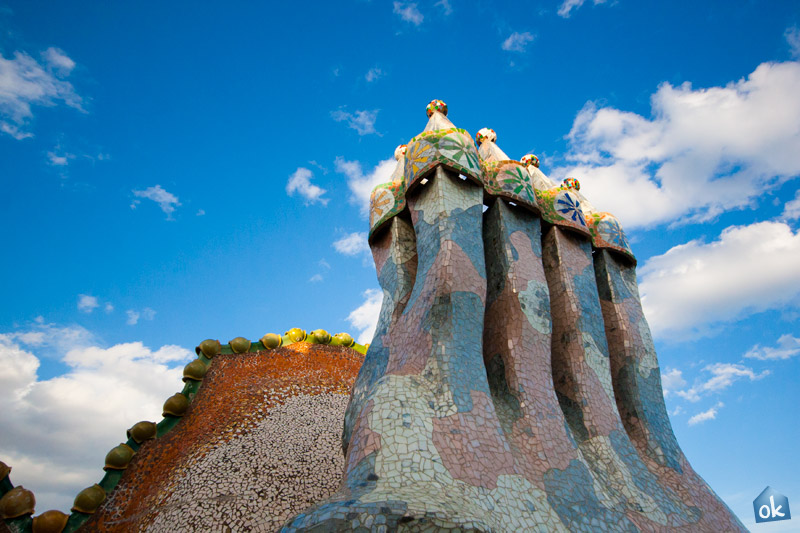 Casa Batll Roof 1