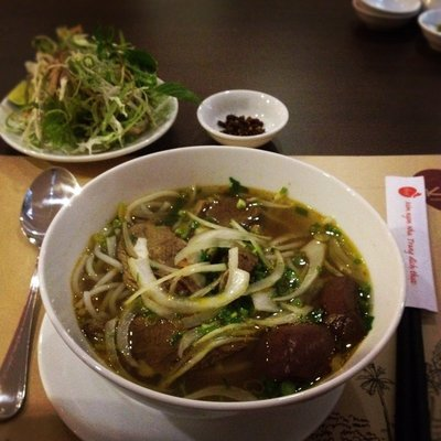 First authentic pho