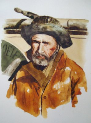 Old Seaman - by Dale Terry