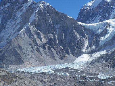 view to base camp Mt' everest