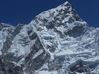 view from Kala Patar to Nuptse and Everest