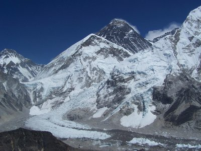view  Kala Patar   Mt.Everest and Nuptse