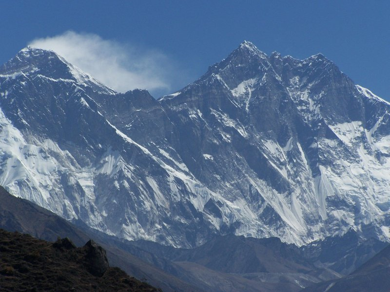 View to Mount Everest