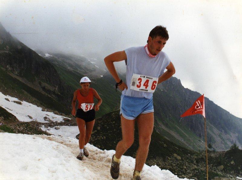 cross du Mont-Blanc