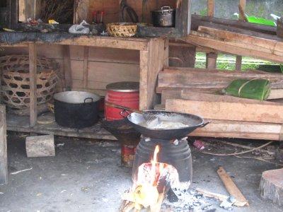 Kitchen in Village