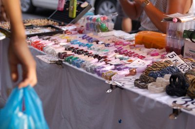 Beauty stall in CHATUCHAK Market