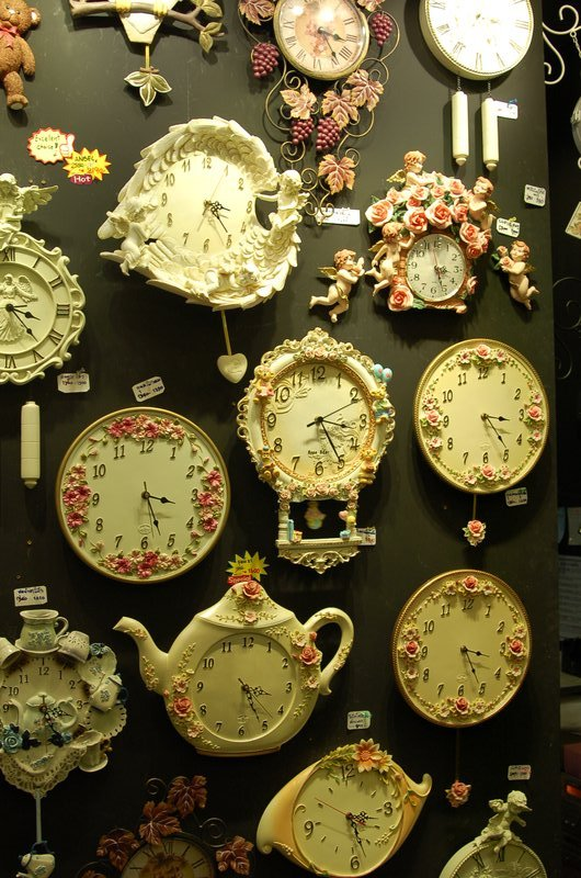 Wall Clocks, CHATUCHAK Market