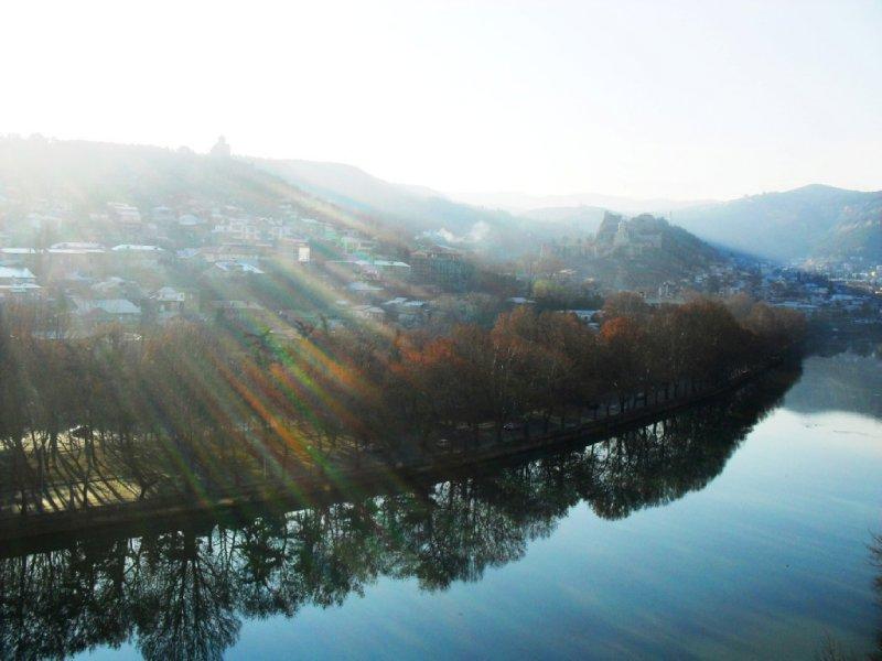 Mtkvari, Tbilisi