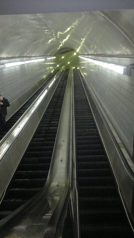 Escalator Peachtree Center