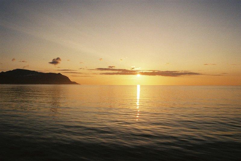 Mid-summer off the Norwegian Coast