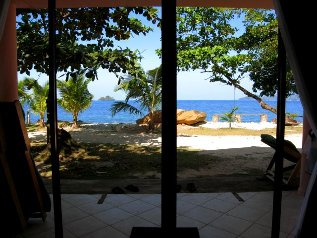 Coral Resort - View from bedroom
