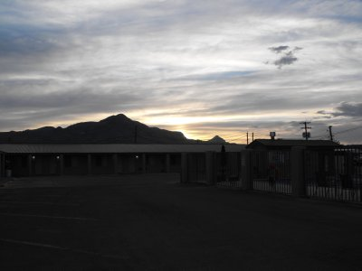 Sunset at Socorro
