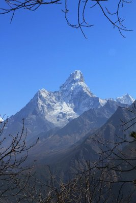 Ama Dablam from Everest View Hotel