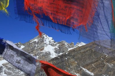 Flags and Everest