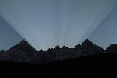 Dramatic Sunrise at Lungden