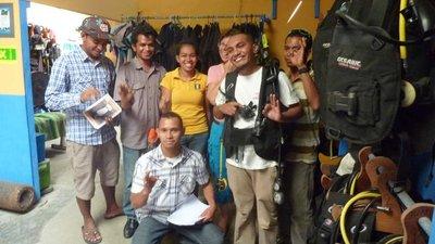 The Happy Group of Dip of Tourism at Padi