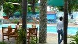 Pool view at Timor Lodge