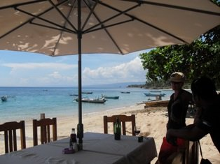 Lunch at the Beach at Baucau