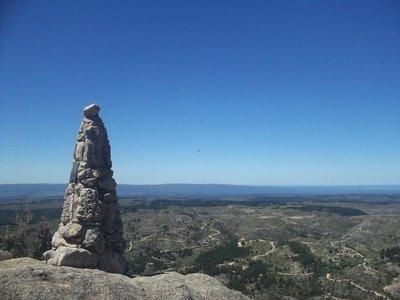 One of La Cumbrecitas peaks w/ condor