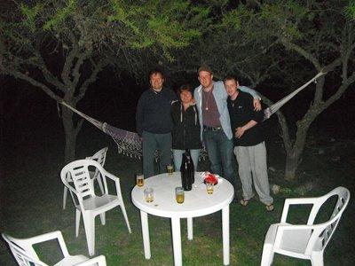 Luke, Sam, Andrei, Nelieta