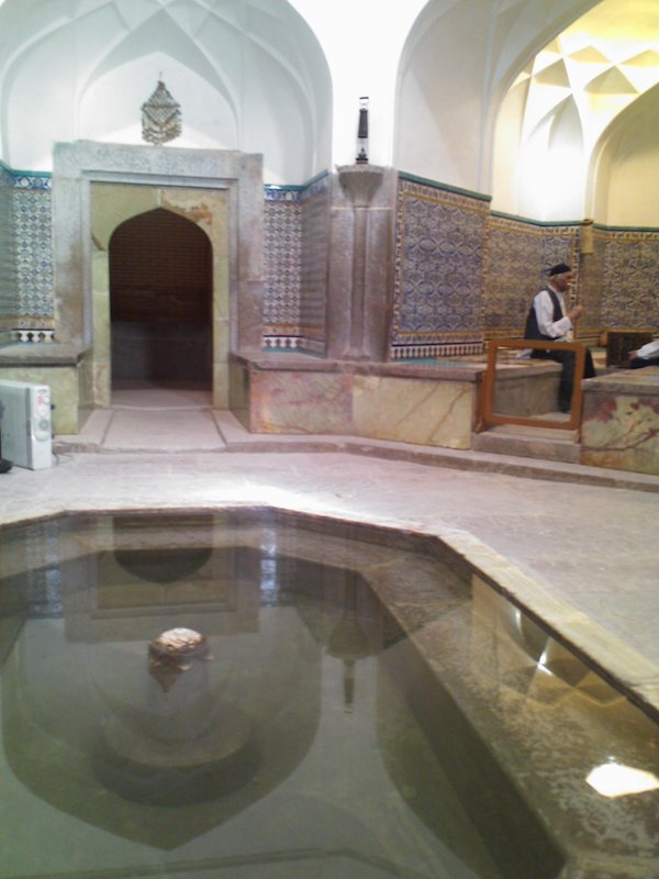 Ganj Ali Khan Bath in Kerman ,