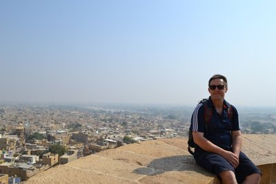 Atop Jaisalmer Fort