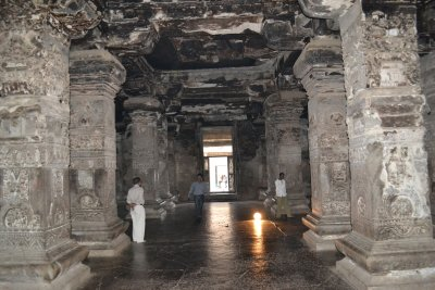 Hindu temple at Ellora Cave temples