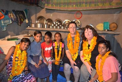 Inside our sponsored child's home