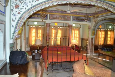Our room in Castle Mandawa