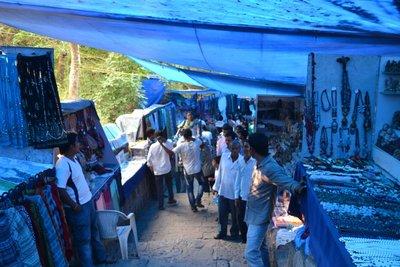 Elephanta Island Vendors