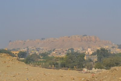 View from east of Jaisalmer Fort