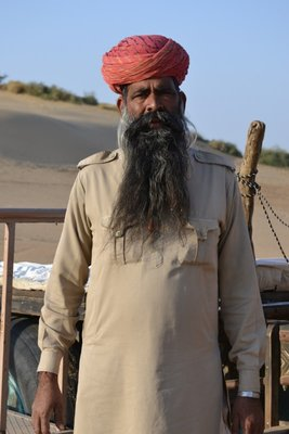 Our friendly camel driver