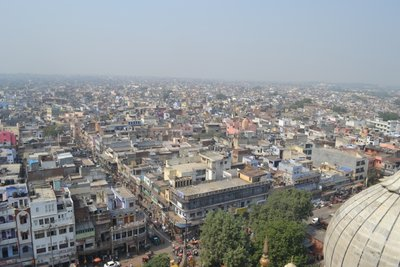 View from Jama Masjid Minaret