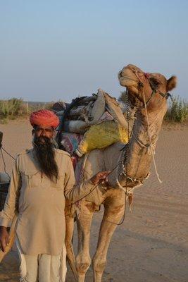 Rajah and his driver