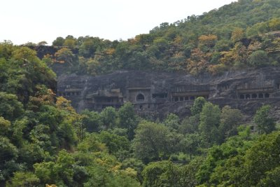 Ajanta Caves Valley