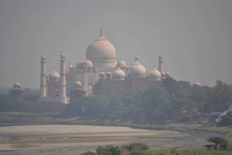Taj From Agra Fort