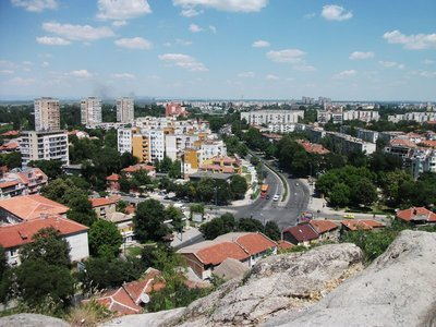 plovdiv from thracian settlement