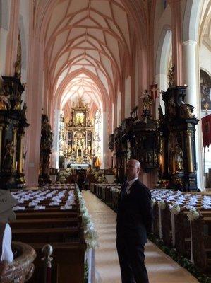 The Cathedral in Monzee, Austria, near Salzburg, where the Von Trapps were married in Sound of Music