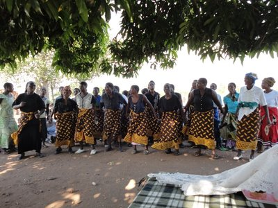 Village Savings & Loans Group Dancing