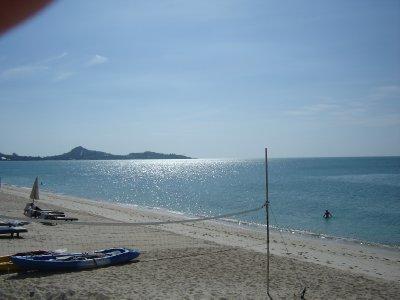 Above: Lamai Beach.