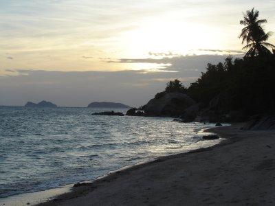 Above: Sunset on Koh Phangan.