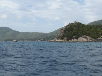 Above: Approaching Koh Tao.