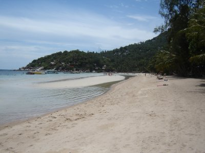 Above: Sairee Beach, Koh Tao.