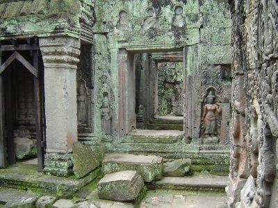 Above: Amazing interior of Preah Khan.