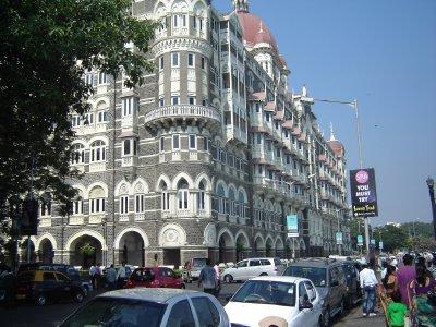 Above: The magnificent Taj Mahal Hotel